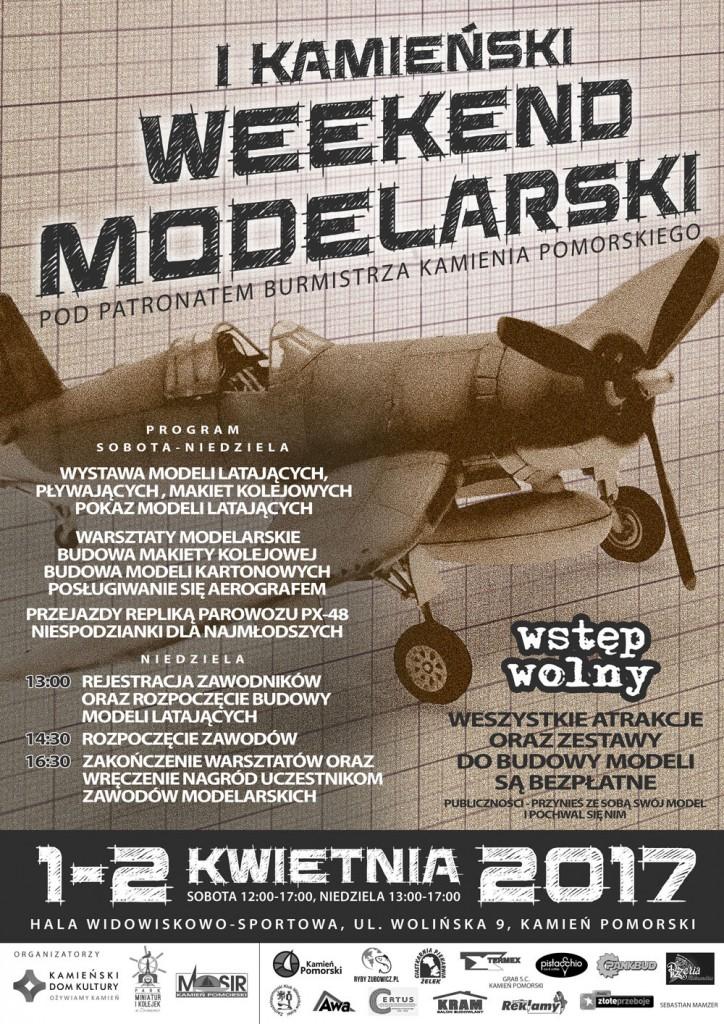 Weekend Modelarski - plakat 2017