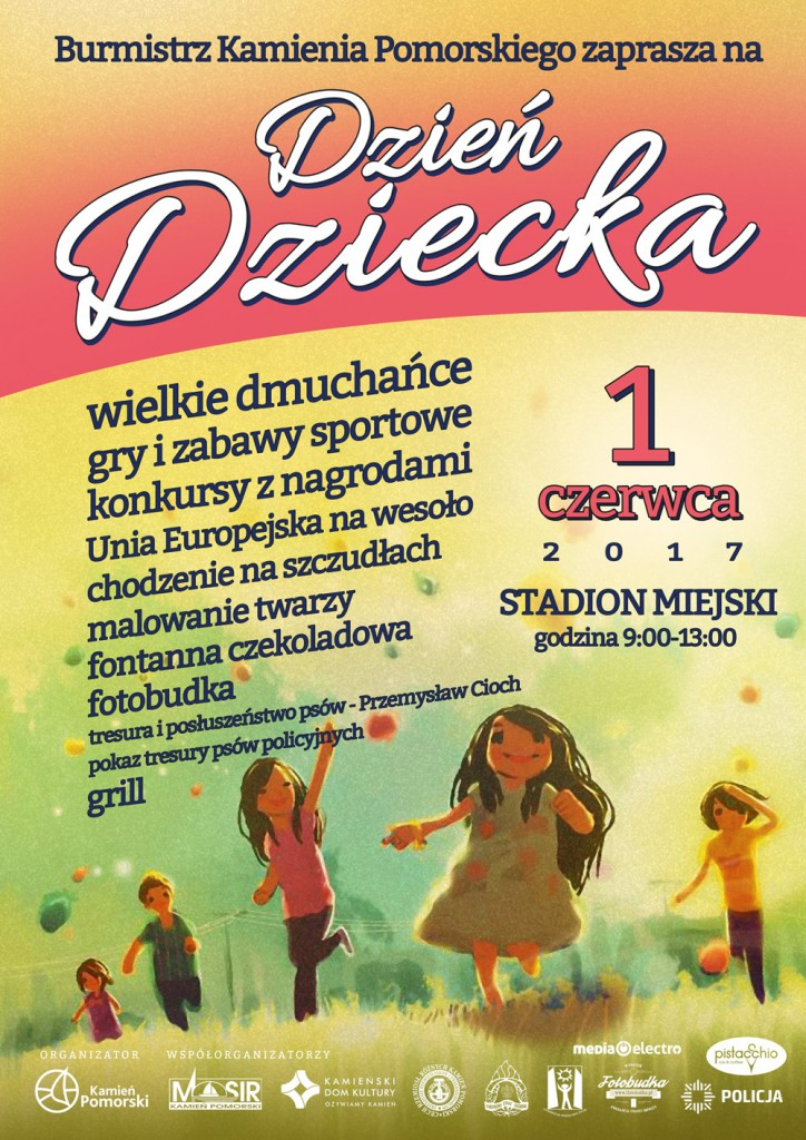 Plakat Dzień Dziecka