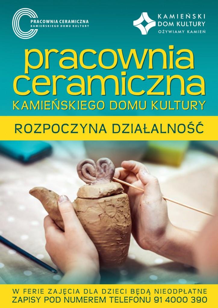 Plakat Ceramiczna